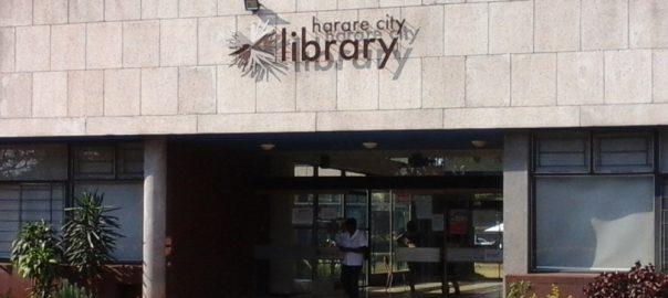 Harare City Library entrance